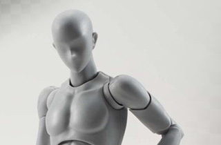 S.H.Figuarts Body kun DX Set Gray Color Ver.