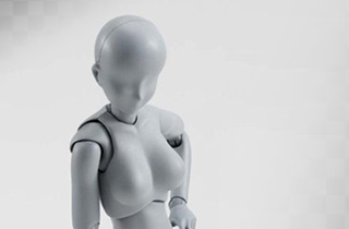 S.H.Figuarts Body chan DX Set Gray Color Ver.