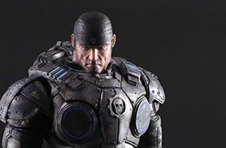 Play Arts Kai Marcus Fenix