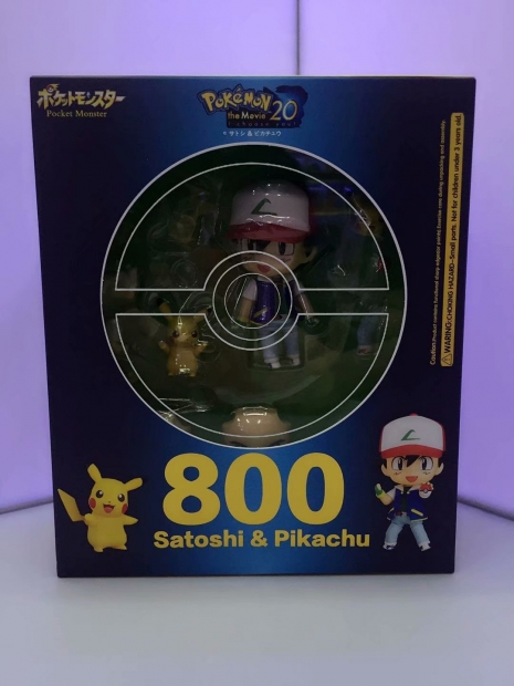Nendoroid Satoshi & Pikachu