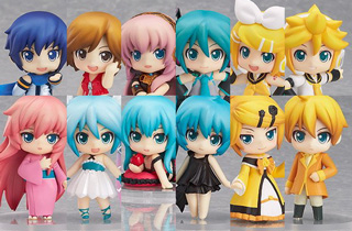 Nendoroid Petite Vocaloid #02 (Set of 12)