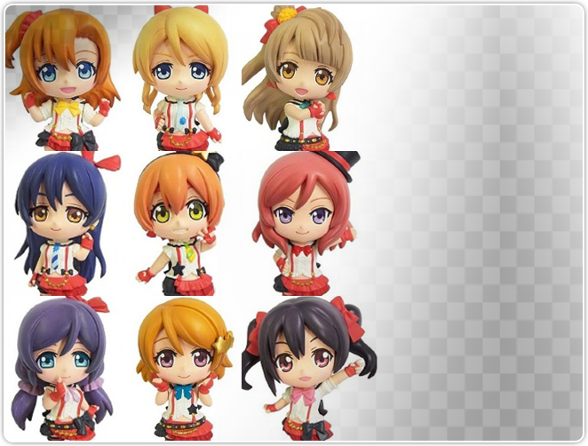 Color Collection DX Love Live! (Set of 9)