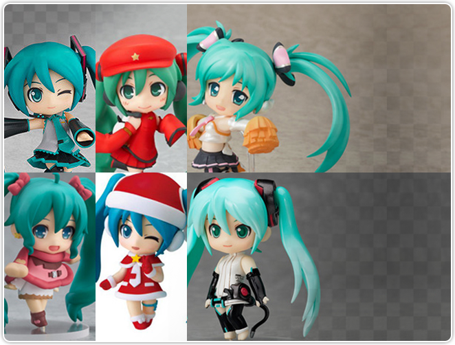 Nendoroid Petite Hatsune Miku Selection (Set of 6)