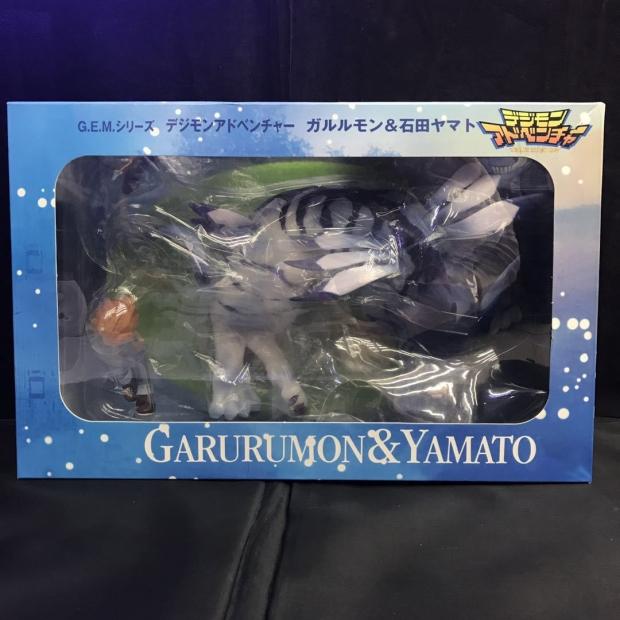 G.E.M. Garurumon & Yamato