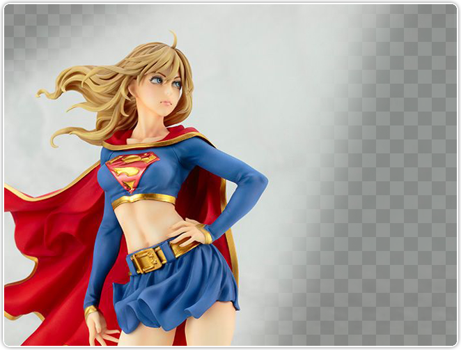 Bishoujo Statue Supergirl Returns