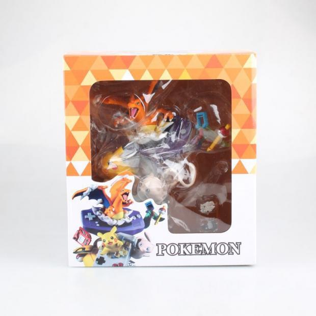 GBA Lizardon Pikachu Mew