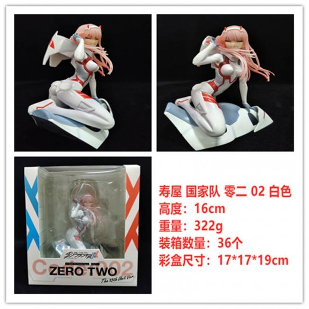 Zero Two white suit