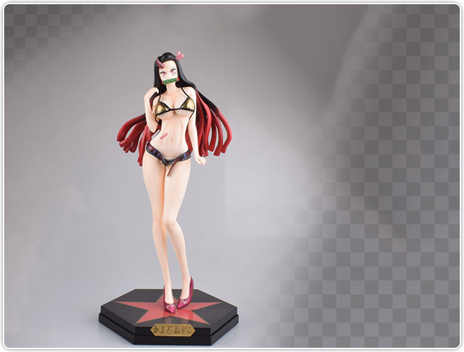 nezuko devil black Swimsuit