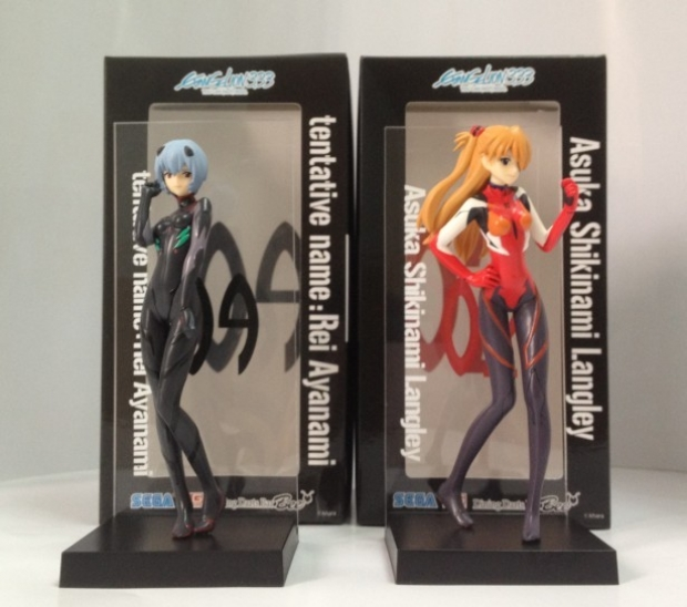 Special Figure Shikinami Asuka Langley & Ayanami Rei (Tentative Name)