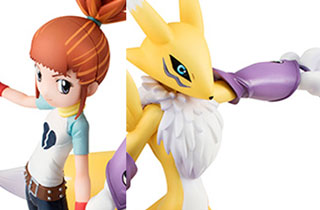 G.E.M. Series Renamon & Makino Ruki