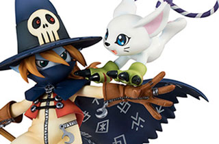G.E.M. Series Wizardmon & Tailmon